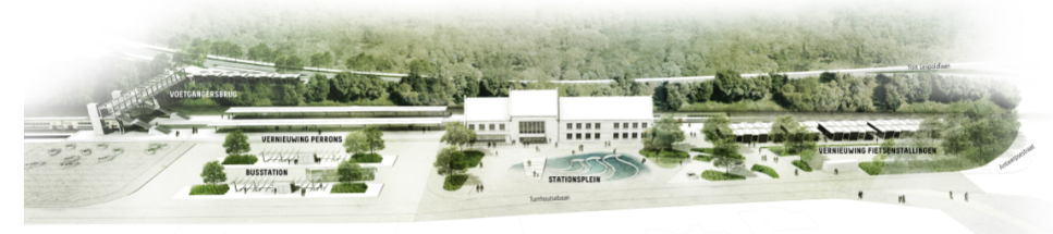 De vernieuwing van het station van Diest en de omgeving verloopt in verschillende fases.