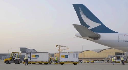 キャセイパシフィック航空 香港向け新型コロナワクチン輸送の第1便を運航