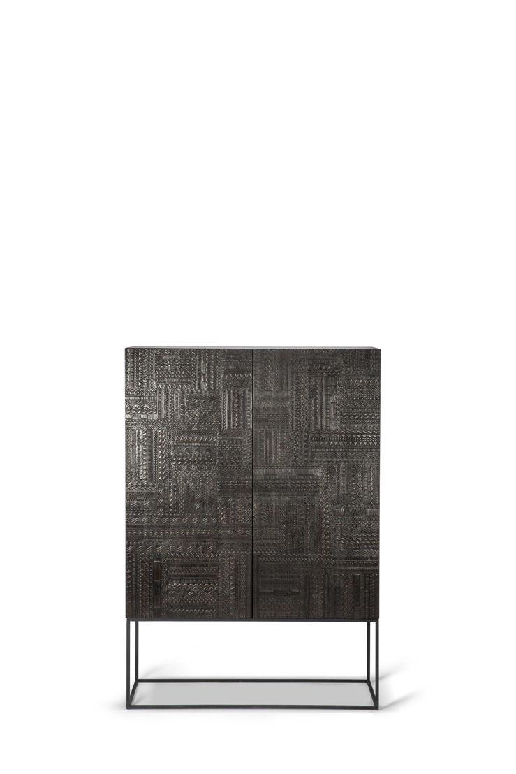 Ancestors Tabwa storage cupboard - 2 doors 2 drawers - 126x45x180cm