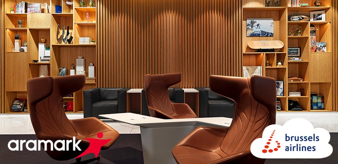 Brussels Airlines verwelkomt Aramark als nieuwe cateringpartner voor haar lounges op Brussels Airport