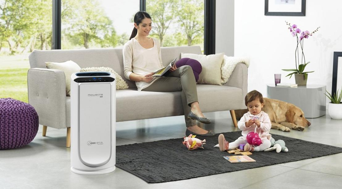 Gezonde lucht bij u thuis dankzij de luchtreiniger Rowenta Intense Pure Air