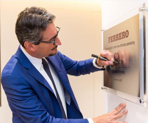 Ferrero annonce l'ouverture du Singapore Innovation Center