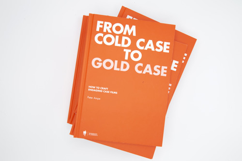 'From Cold Case to Gold Case' is eerste gids voor case study films