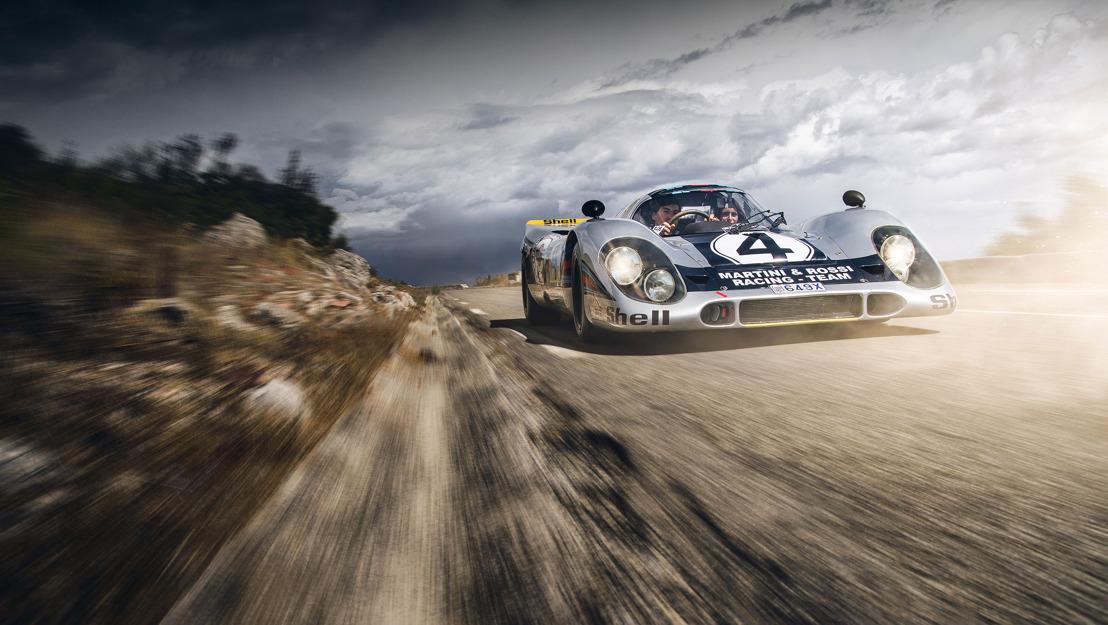 Legendario auto de carreras Porsche utilizado para uso diario