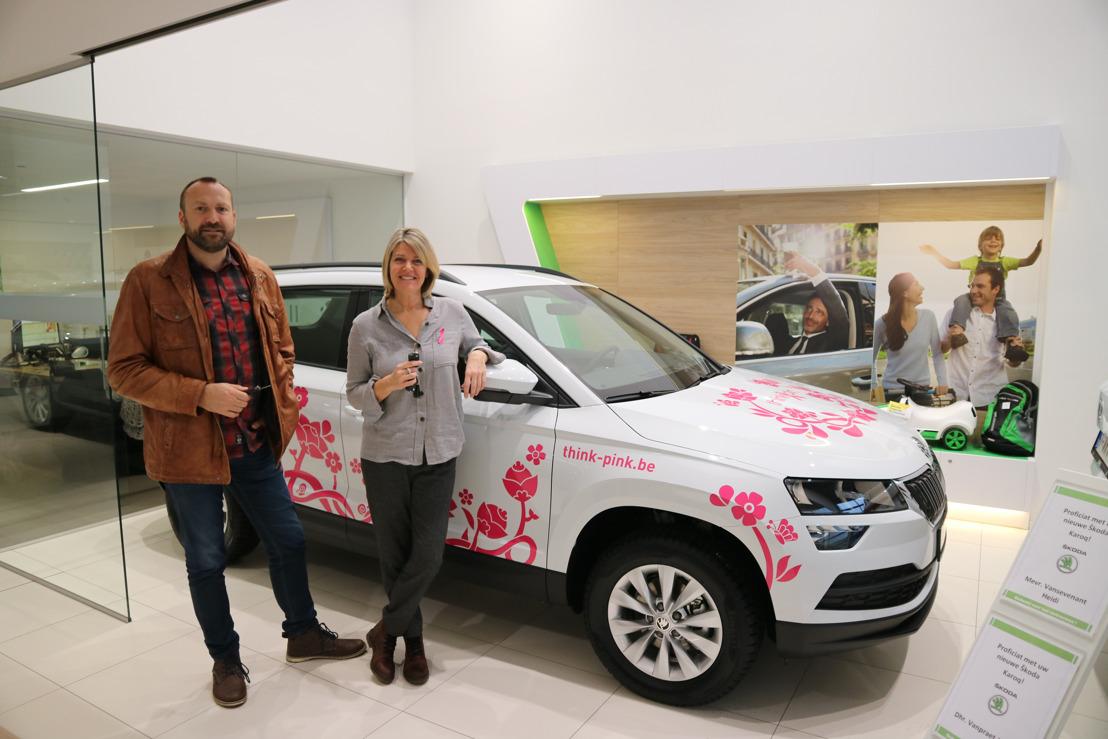 ŠKODA brengt Think Pink dichter bij borstkankerpatiënten