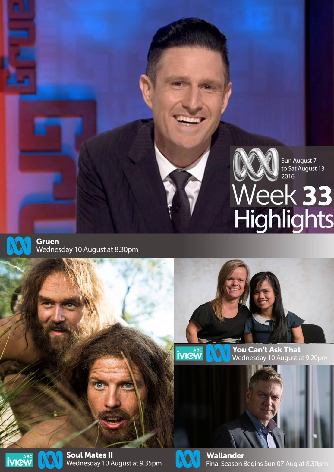 ABC Program Highlights - Week 33