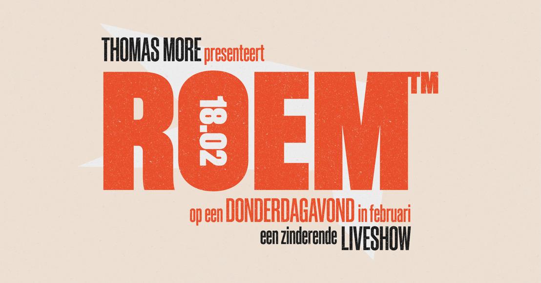 Thomas More gaat voor ROEM!