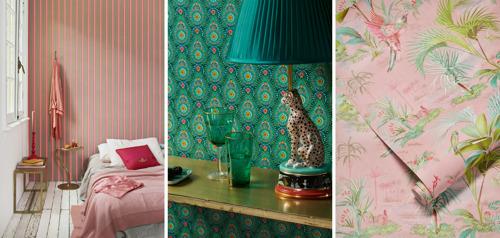 Sublimez votre intérieur avec des motifs floraux signés Eijffinger et Pip Studio
