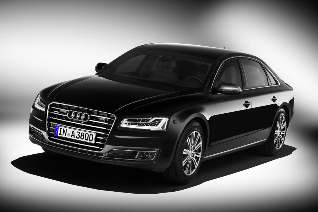 Audi A8 L Security: de veiligste Audi aller tijden