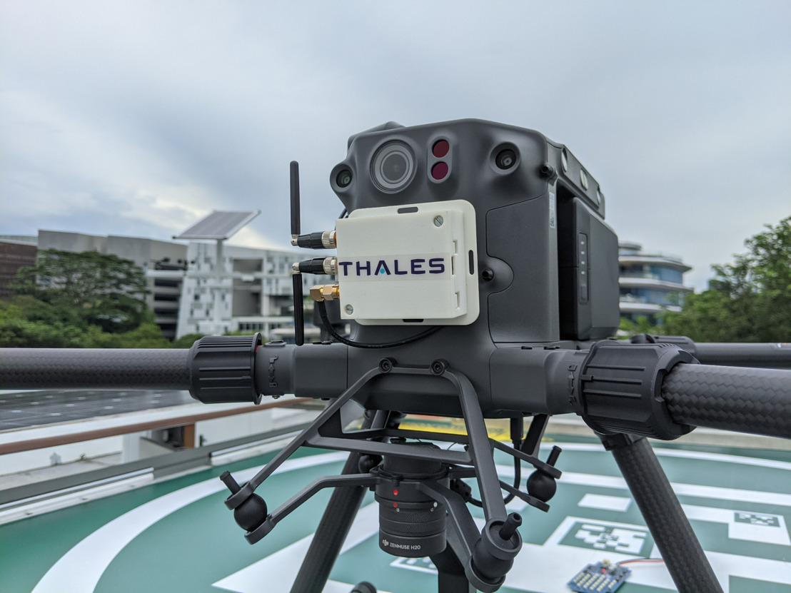 Thales and H3 Dynamics enter drone automation age with real time tracking for seamless traffic control in low-altitude airspace
