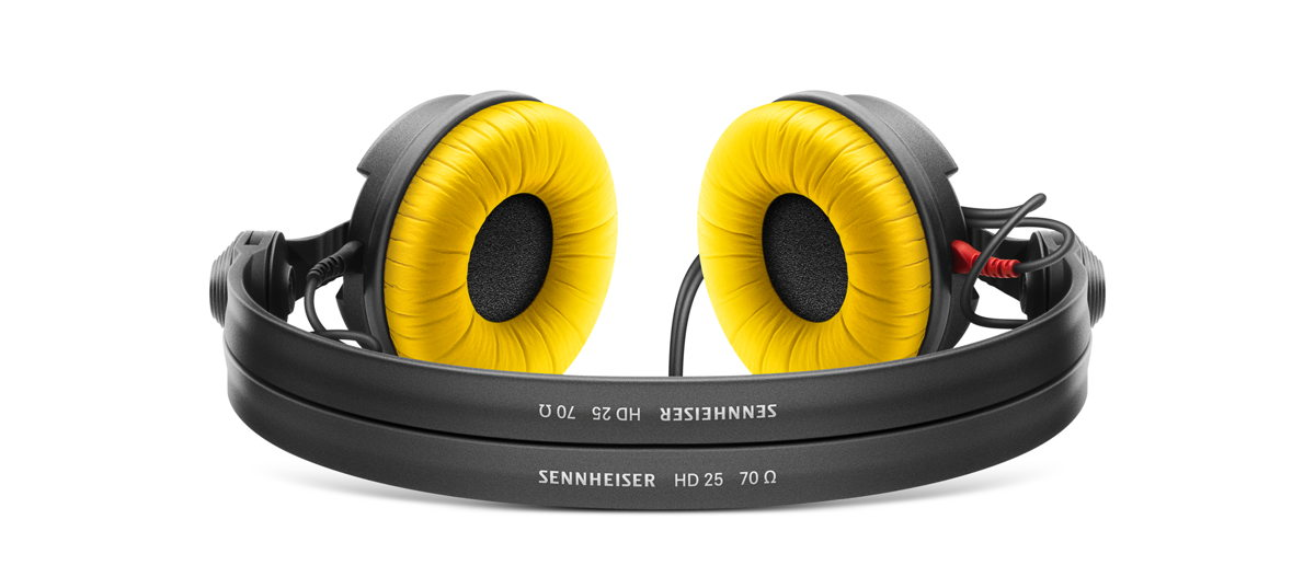 The HD 25 monitoring headphones are on special offer during the month of June. If you are lucky, you will receive the Limited Edition model instead, which includes both black and yellow ear pads