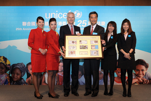 Cathay Pacific/UNICEF 'Change for Good' raises over HK$12.3 million in 2010 to help underprivileged children worldwide
