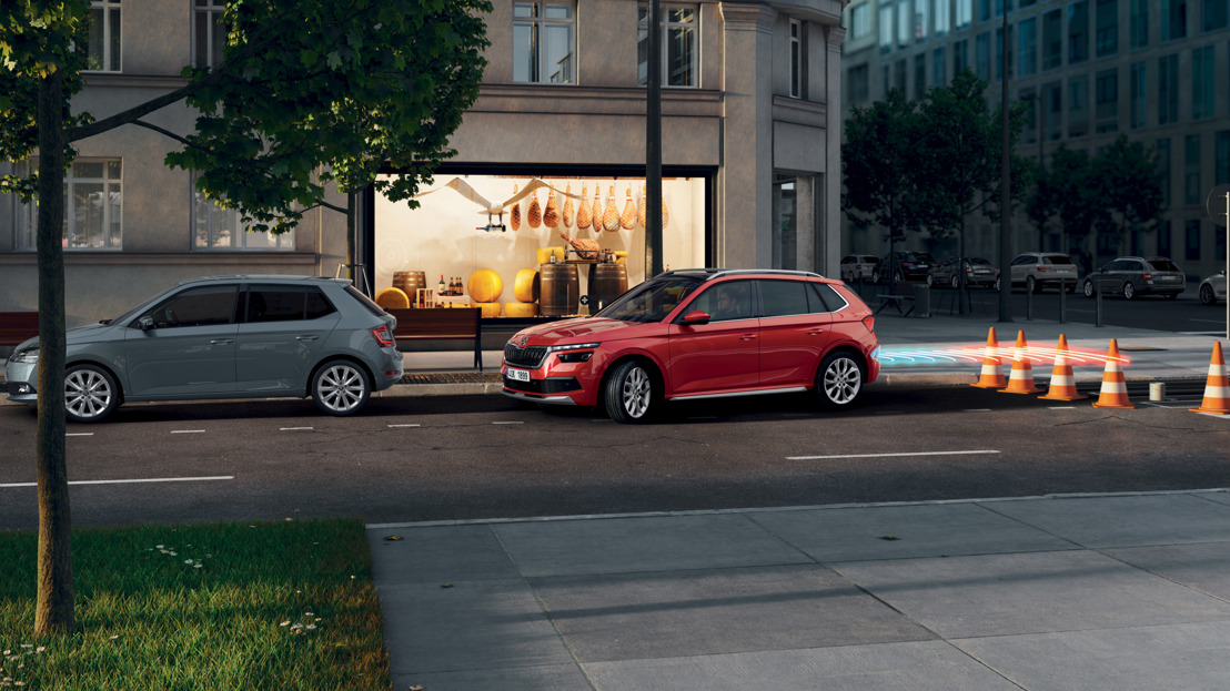 Modern safety and comfort assistants extremely popular in ŠKODA SCALA and KAMIQ