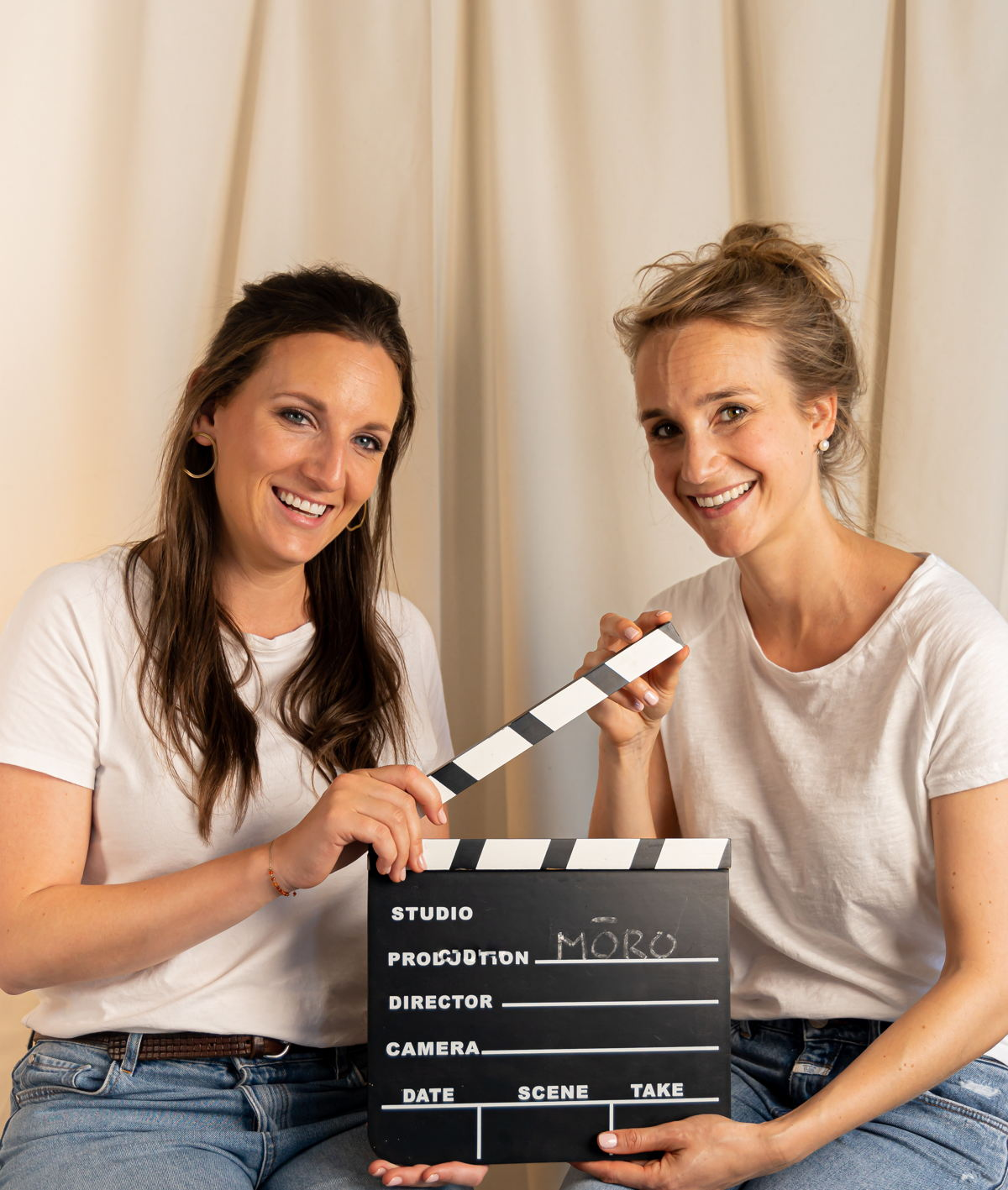 Yasmine Mili en Katrien De Clerck, oprichters MŌRO Essentials
