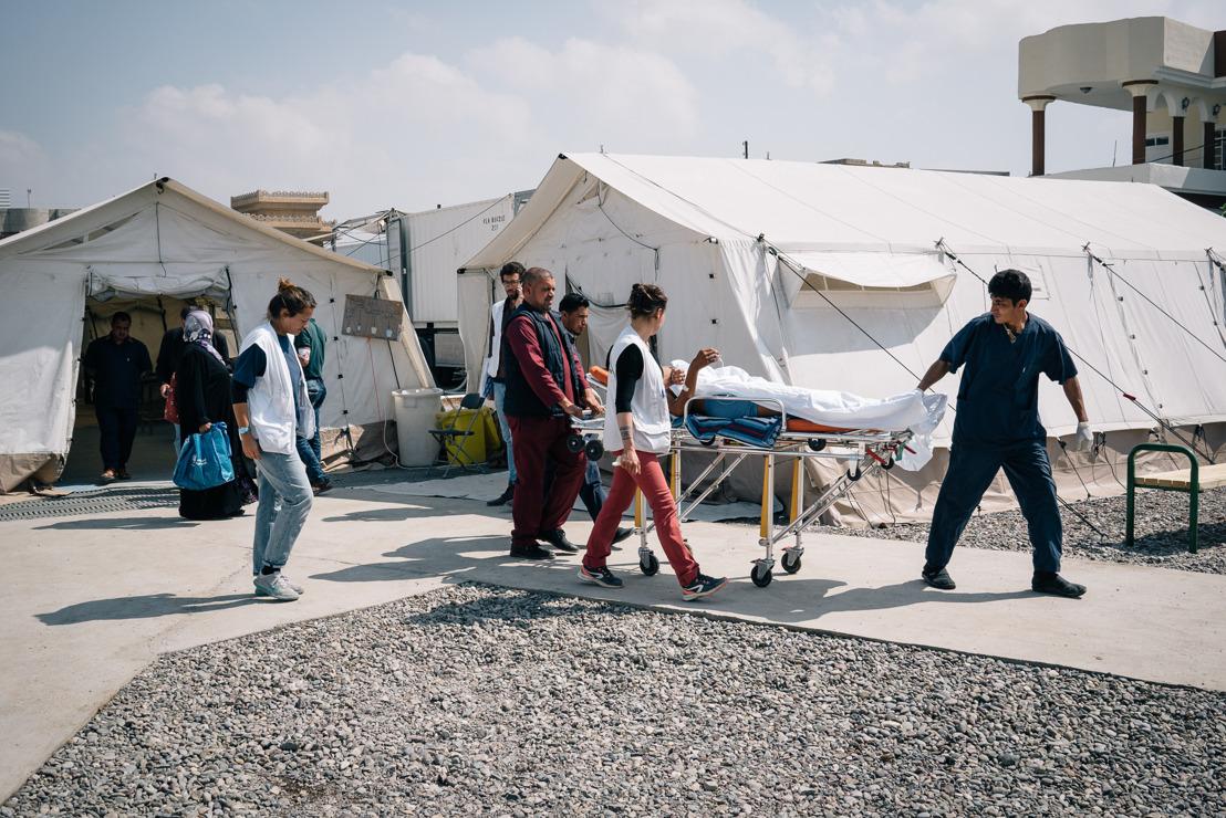 Mossul: MSF behandelt Kriegsverletzte und unterstützt Spitäler