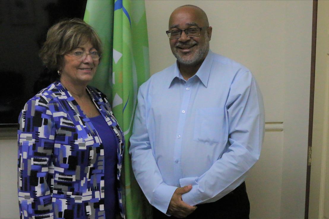 US Ambassador Pays Courtesy Visit On the OECS Commission