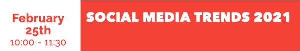 Preview: Social.Lab Academy ontcijfert de trends van 2021 live op 25 februari