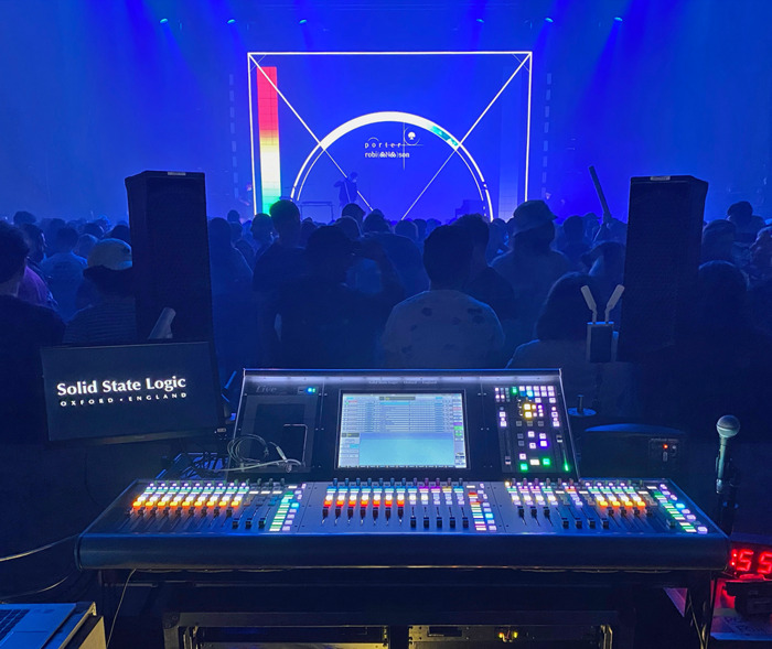 Preview: Solid State Logic Live L200 Accompanies FOH Engineer Simon Thomas on Porter Robinson's Nurture Live Tour 2021