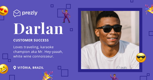 The Prezly Team: Darlan