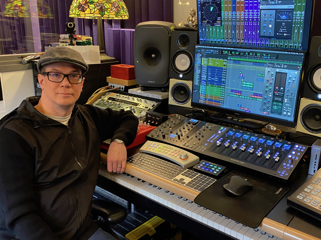 Esteemed UK Mixer Adrian Hall Takes Hybrid Set Up to the Next Level with Solid State Logic UF8 and UC1 Controllers