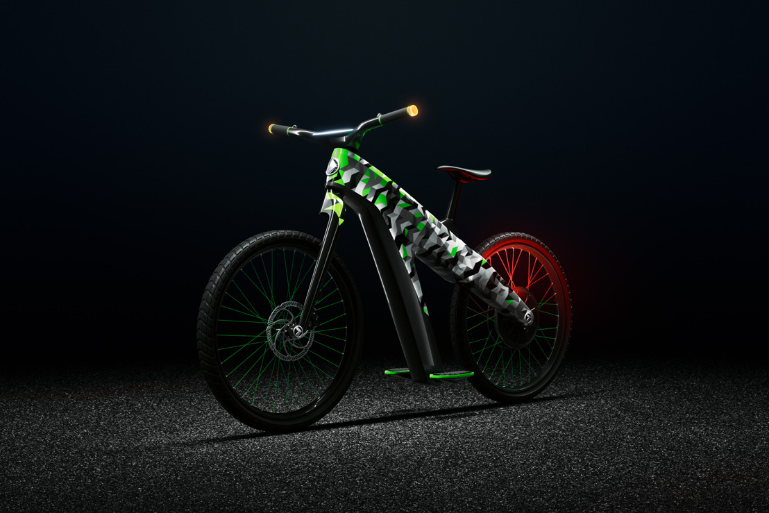 KLEMENT: ŠKODA electric two-wheel concept for sustainable micromobility in the city