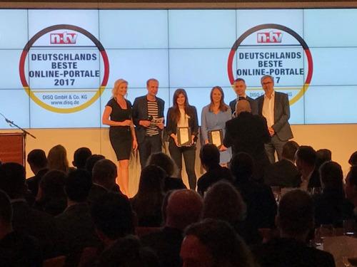 """Marktplatz #1: Shpock bei """"Deutschlands Beste Online-Portale 2017"""" ausgezeichnet"""