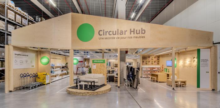 IKEA Belgique franchit de nouvelles étapes pour concrétiser ses ambitions de circularité
