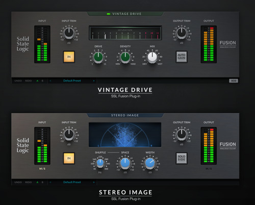 Solid State Logic Introduce New Era Of Audio Software Processing With SSL Fusion Plug-ins