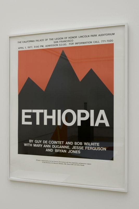 Ethiopia (poster), 1976 | Courtesy Centre Pompidou, Paris<br/>Musée national d'art moderne / Centre de création<br/>industrielle , foto (c) Isabelle Arthuis