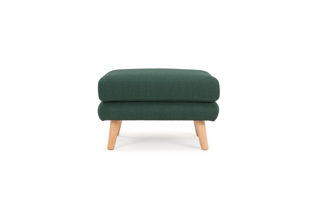 Georg footrest - Dina Forest Green