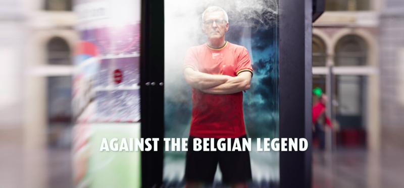 Leo Van Der Elst inside Vending Machine