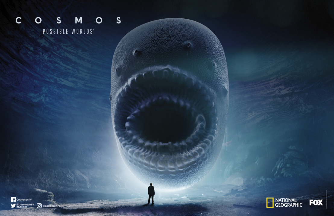 "FOX and National Geographic release exclusive first look at highly anticipated ""COSMOS: POSSIBLE WORLDS"" at San Diego Comic-Con 2018"