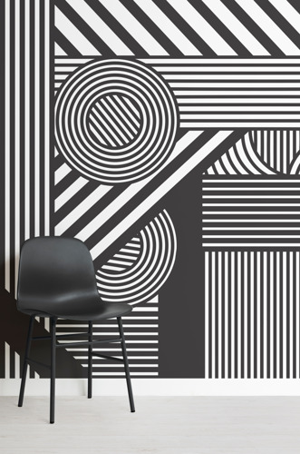 Dizzying Design: 'Dazzle Camo' Inspires New Mural Collection