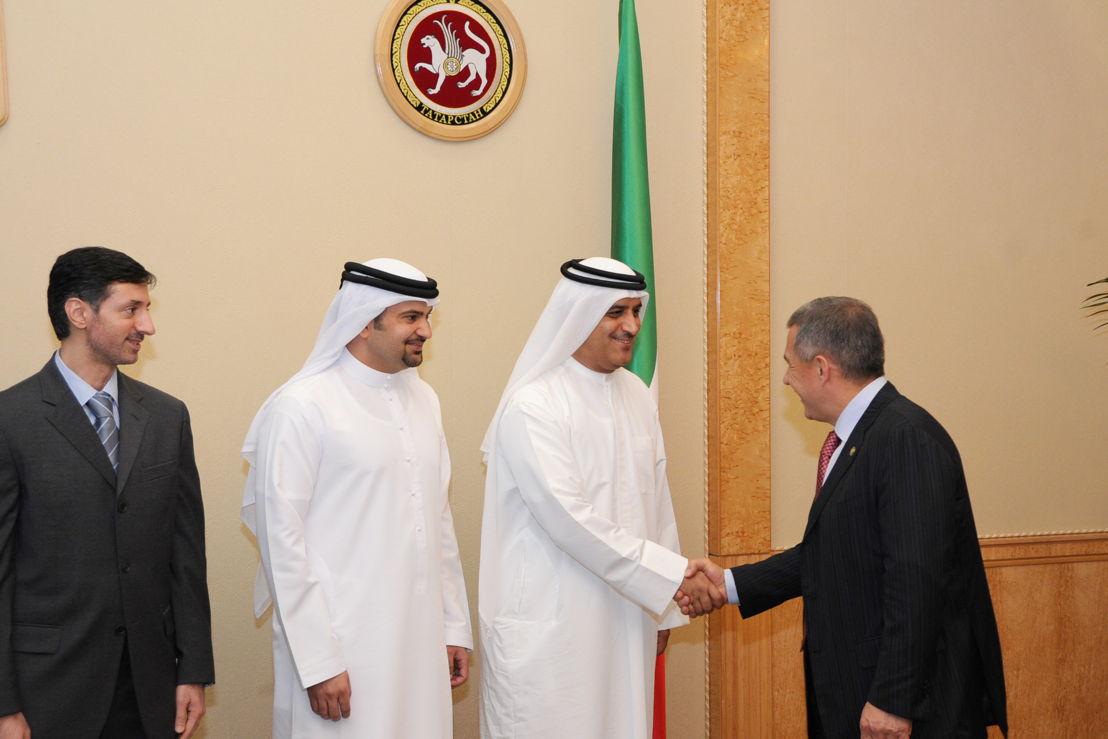 Ghaith Al Ghaith meets the President of Tatarstan