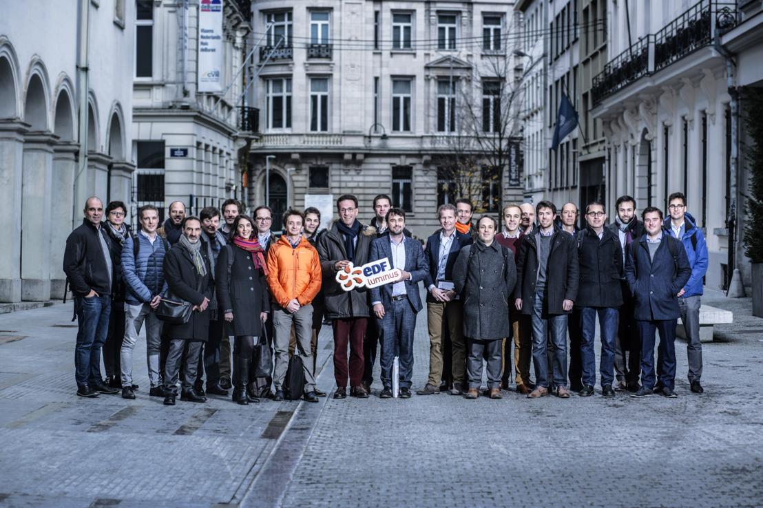 EDF Luminus est la première entreprise à rejoindre le programme start-up de Start it @KBC spécialement destiné au grandes entreprises