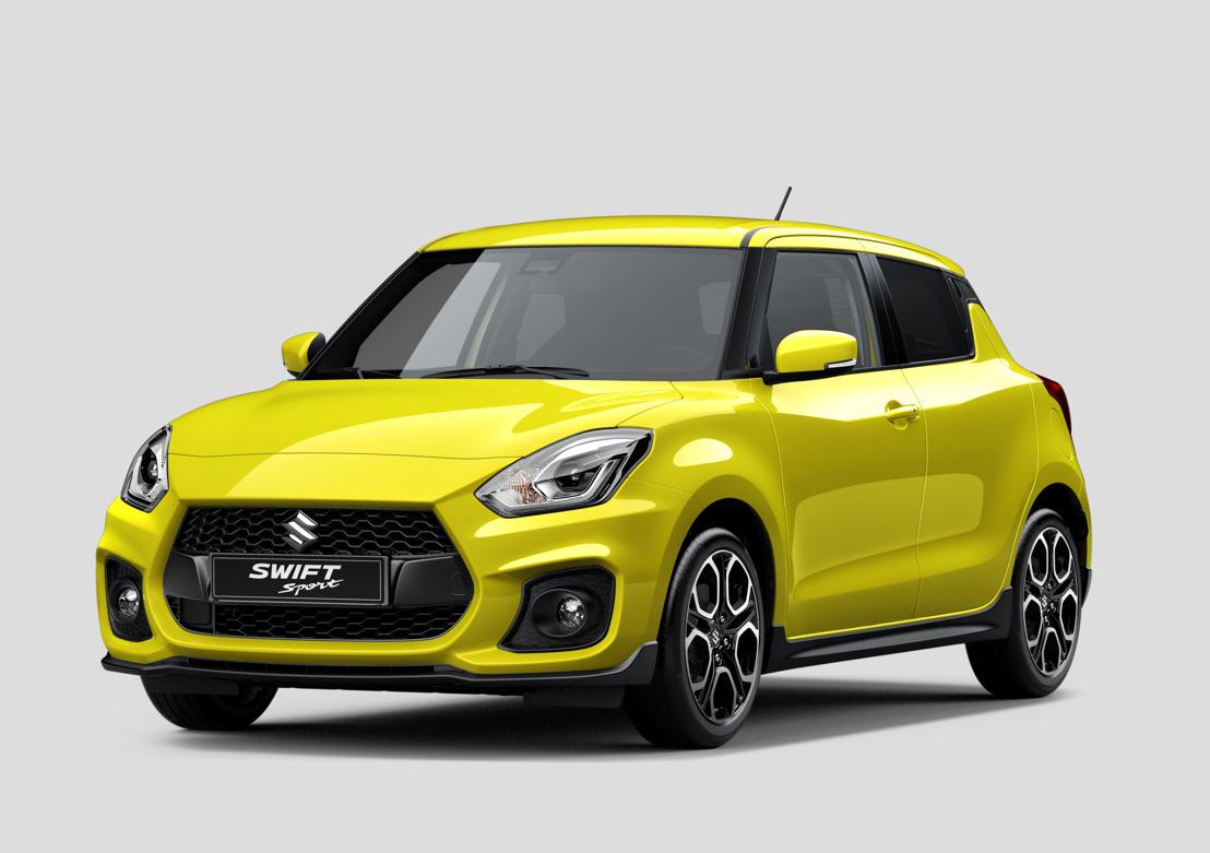 De nieuwe Suzuki Swift Sport - foto's