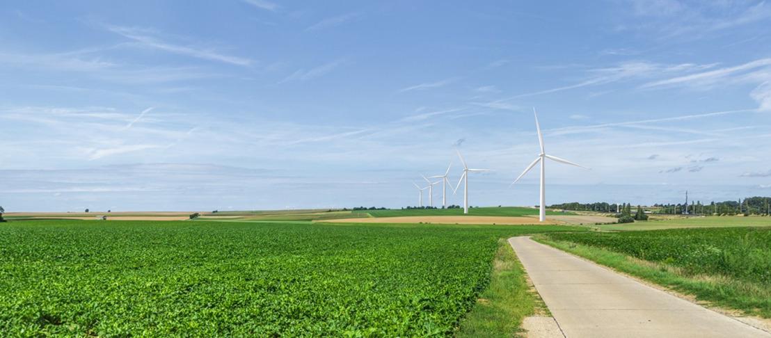 Definitief inplantingsplan voor Windpark E40 in het oosten van Vlaams-Brabant