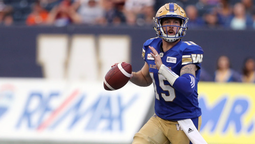 REMINDER: MEDIA CONFERENCE CALL WITH MEMBERS OF THE WINNIPEG BLUE BOMBERS AND TORONTO ARGONAUTS
