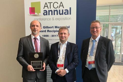 Johan Decuyper reçoit un prix prestigieux de l'ATCA aux États-Unis