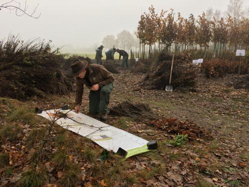 Natuur en bos plant ook deze winter verder aan het bos van morgen