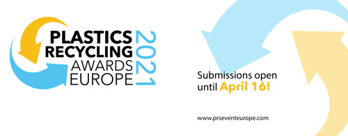 Plastics Recycling Awards Europe 2021 Open for Entries
