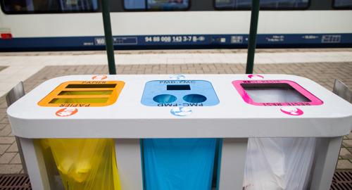 NMBS lanceert communicatiecampagne om selectieve afvalinzameling in haar stations te versterken