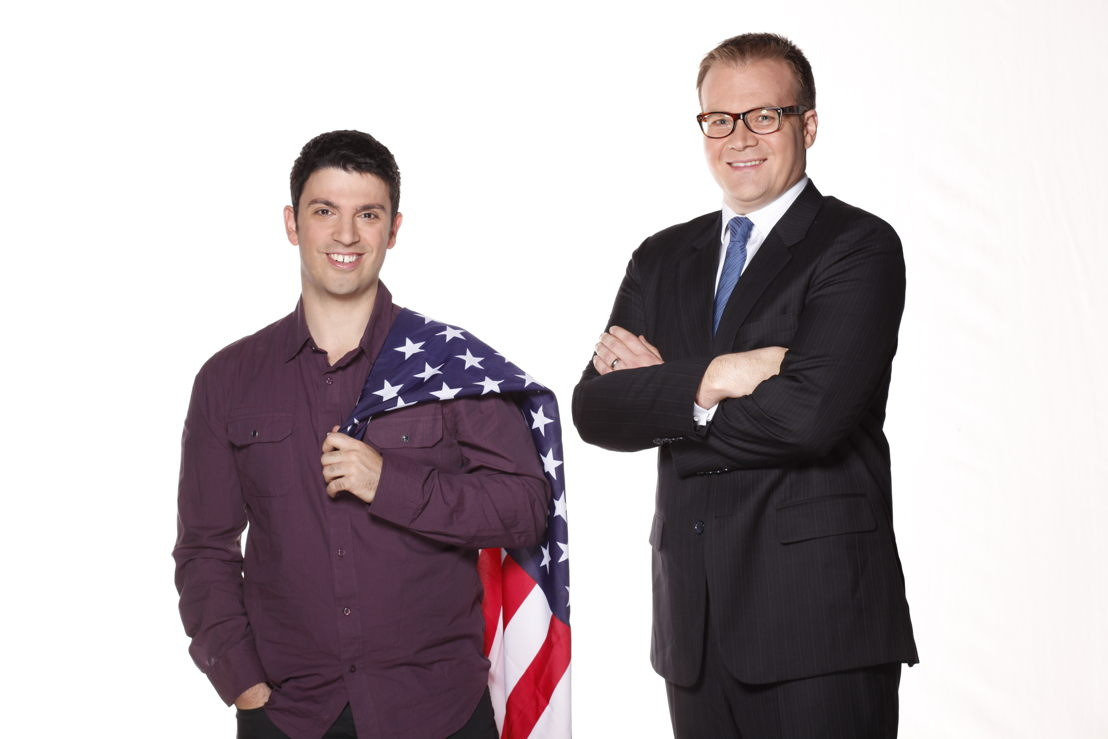 Planet America hosts, Chas Licciardello & John Barron
