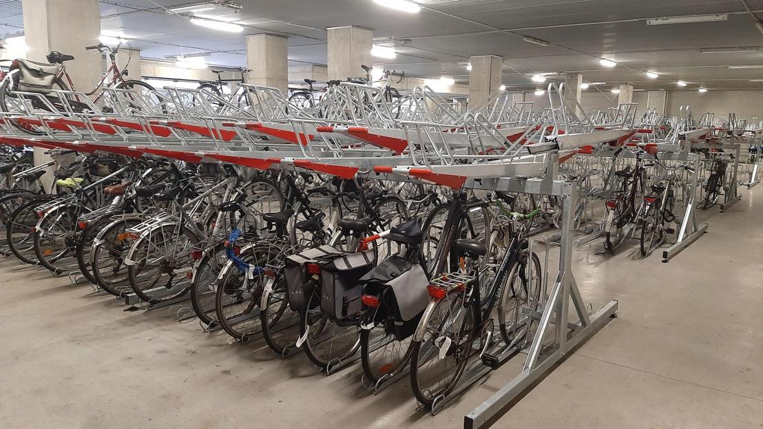 500 extra fietsparkeerplaatsen aan station Brugge