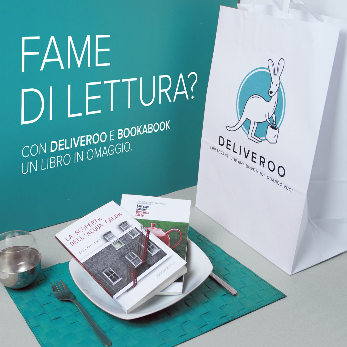 Deliveroo & Bookabook