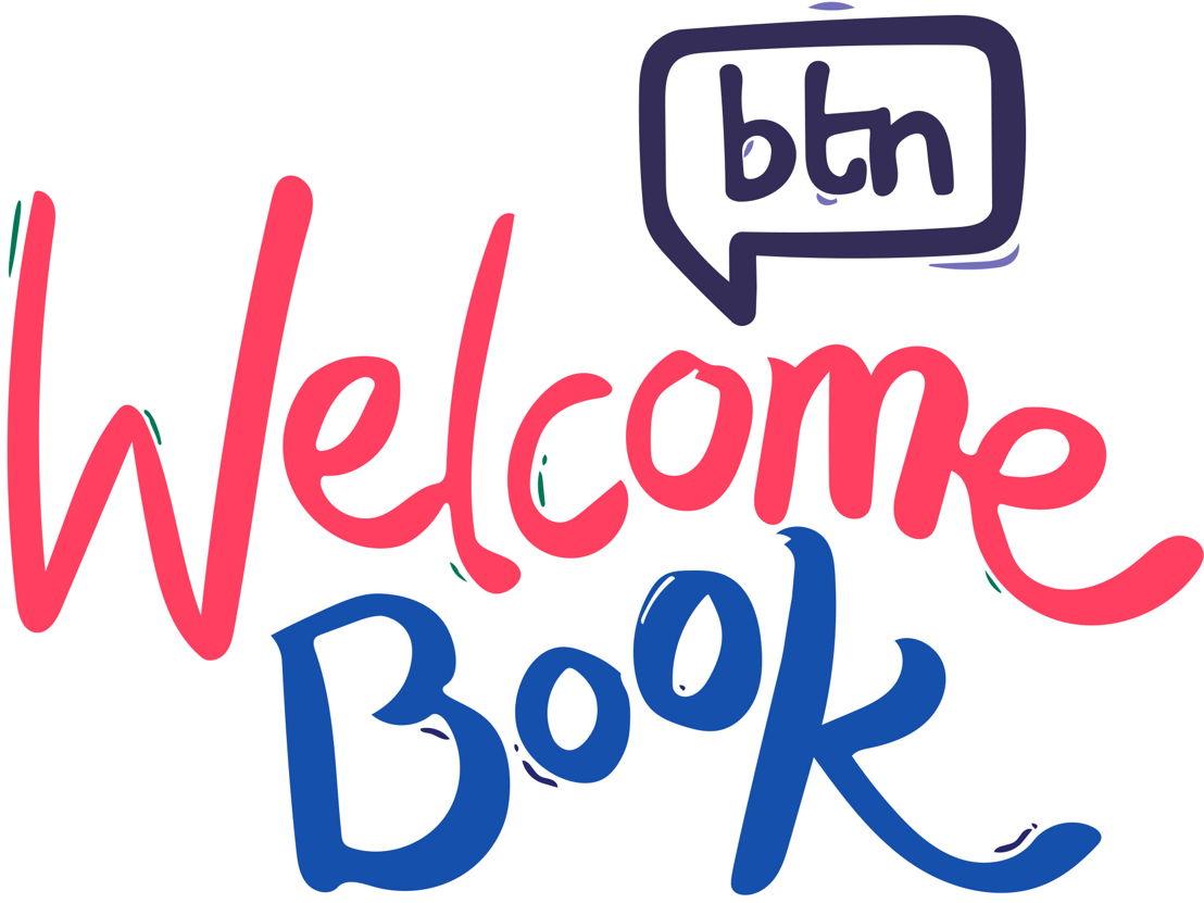 BTN Welcome Book logo