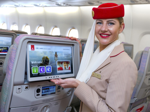 Emirates offers more live sporting action on board
