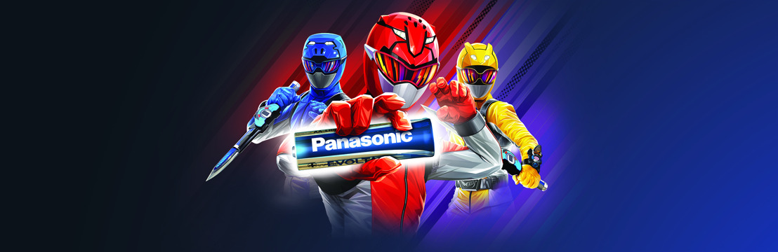 Panasonic and POWER RANGERS, the best choice for your toys in 2020