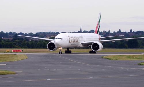 Emirates' third daily service touches down in Birmingham