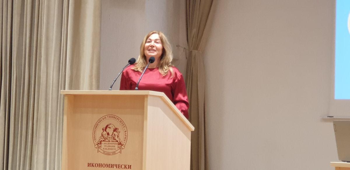 Силвия Илиева, координатор на проекта GATE.
